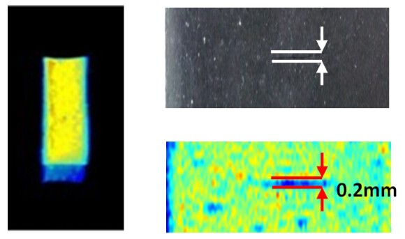 以 MRI 磁振造影來觀察橡膠細微裂縫